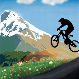 dcmountains mountain cyclist nature
