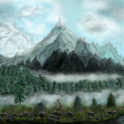 dcmountains drawing mountains landscape