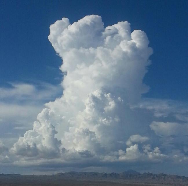 #Laughlin #desert #clouds
