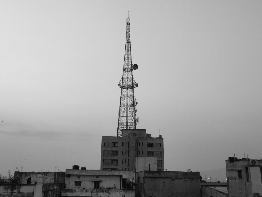 #city #buildings #tower #photography #black&white #urban