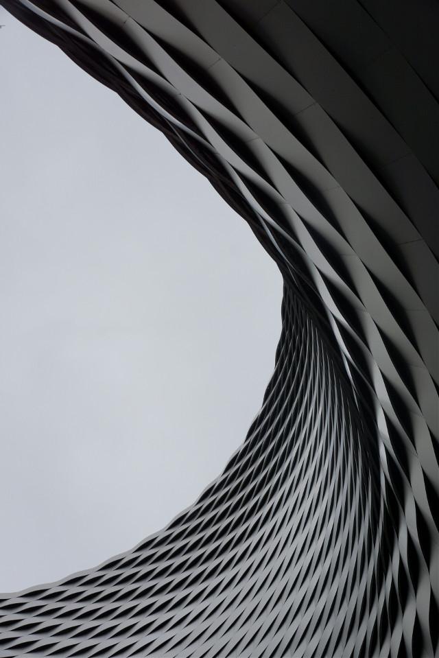 Basel expo / herzog & de meuron  #architecture  #monochrome  #perspective #herzog&demeuron  #switzerland #city #cold #art