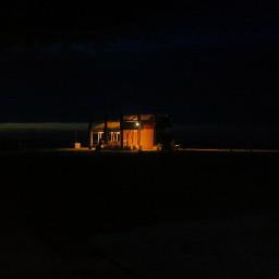 night beach travel photography hdr