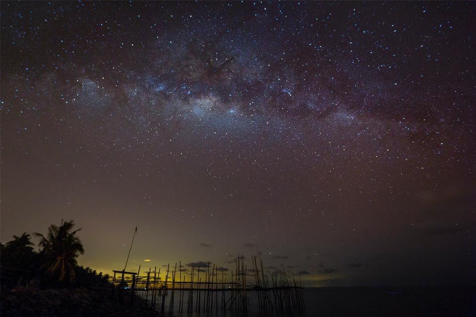 #night #picsart #photooftheday #star #milkyway #lights #longexposure #photography #nightscape