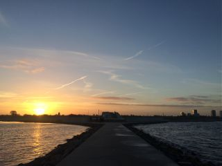 beach copenhagen amager sunset coldbreeze freetoedit