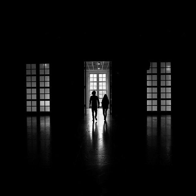 silhouettes photography Michal Koralewski