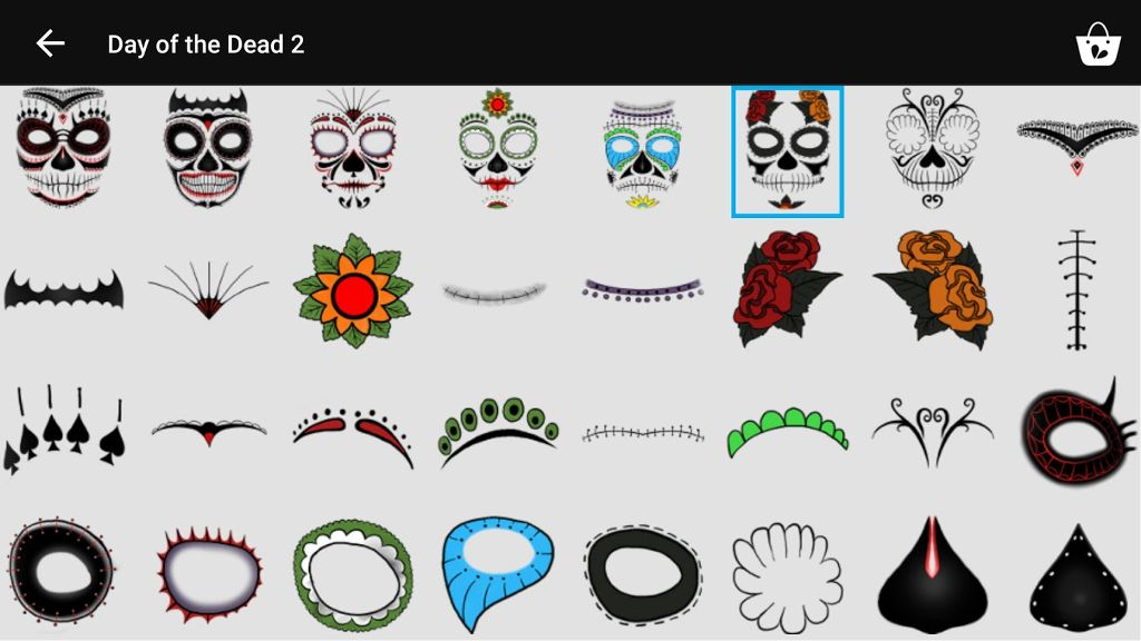 day of the dead clipart menu