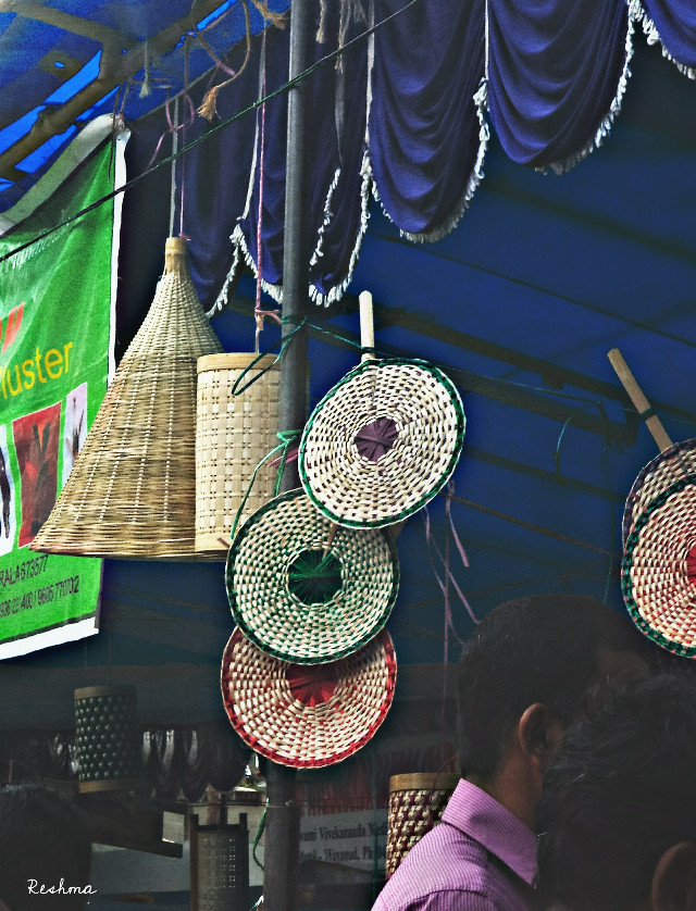 I walk, I look, I see, I stop, I photograph :-) - Leon Levinstein   Good evening  my Dear friends  #streetphotography #photography #bamboo #bamboofestival #SaveNature #people #art #creativity #hdr #craft #kerala #india