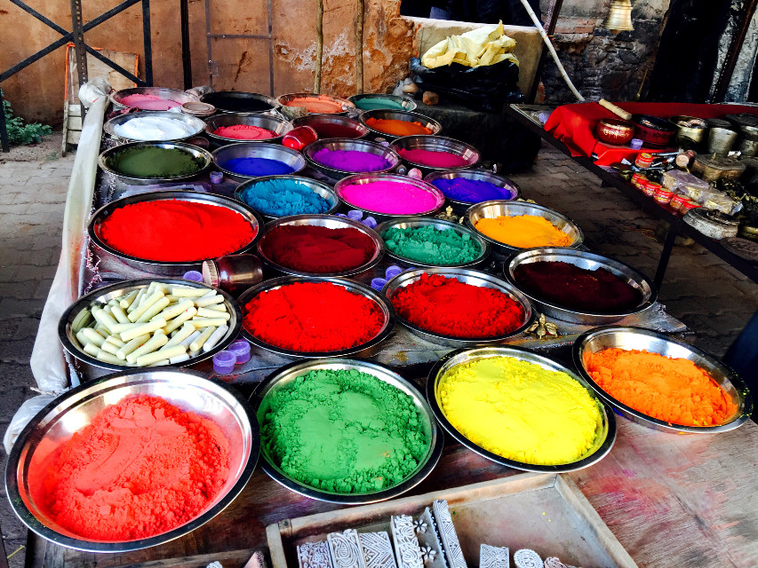 Rural India #colourful #bright #holy #interesting