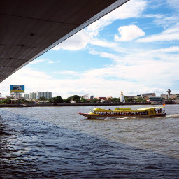 bridge rama8 thailand thai chaophrayariver