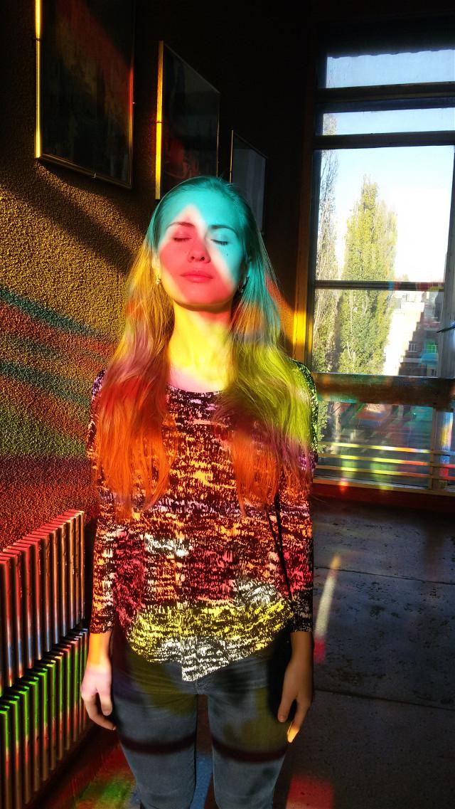 💚💛💜#colorsplash #sunlight