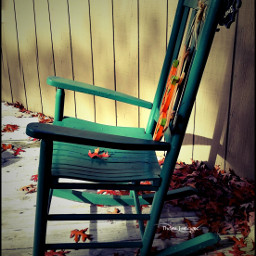 featured lomoeffect chair autumn fall