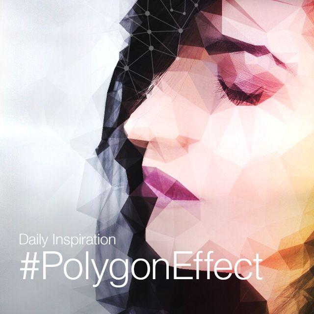 polygon photo effect