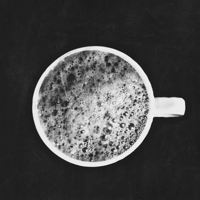 #coffee #love #black&white #wppcupofcoffee