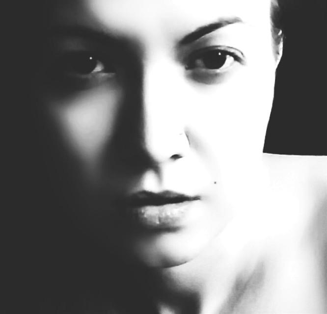 #photography #freetoedit #face #woman #portrait #blackandwhite #girl #emotions  #monohrom