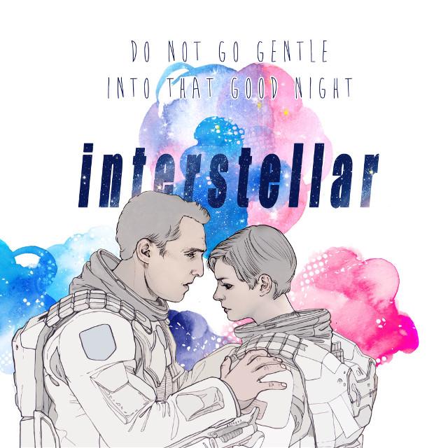 #illustration #illust #pencil #drawing #draw #sketch #watercolor #movie #interstellar