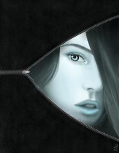 wdpeyes drawing eyes woman surreal