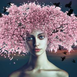 hair art beautifypicsart customclipart surreal retro artistic doubleexposure artisticselfie seasons hair