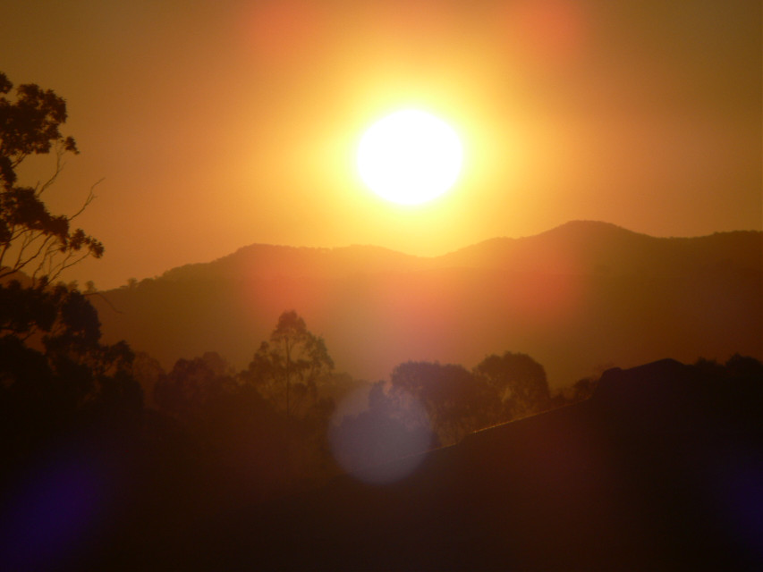 Sunset. Australia.