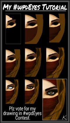 stepbystep tutorial drawing eyes steps