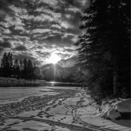 cold canada canmore snow