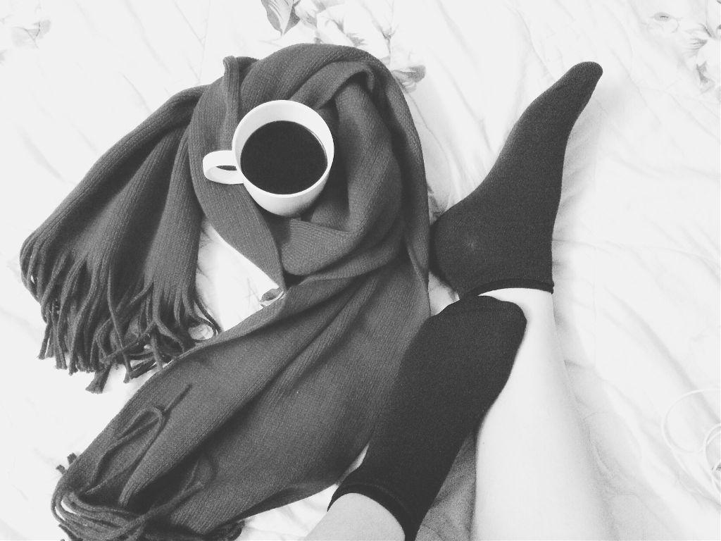 Hello December! #picsart #LanNg #photography  #photo #blackandwhite #winter #december #coffee