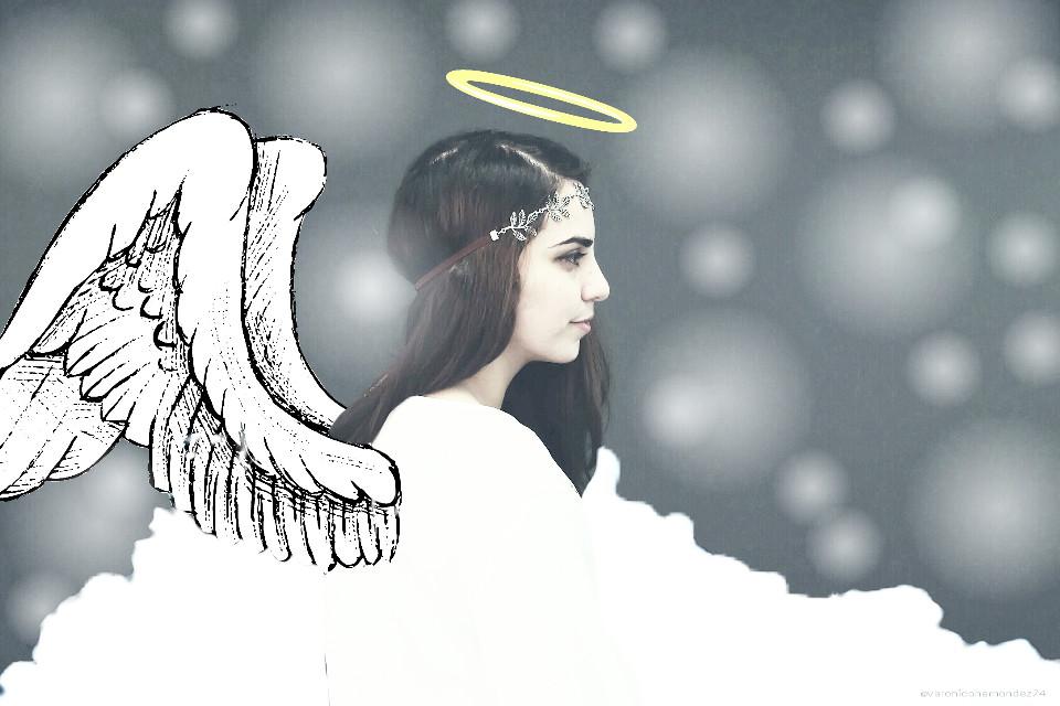 For  @arevdanielian hope you like it my dear friend 😀 #angel #clipart #drawon #wapwings