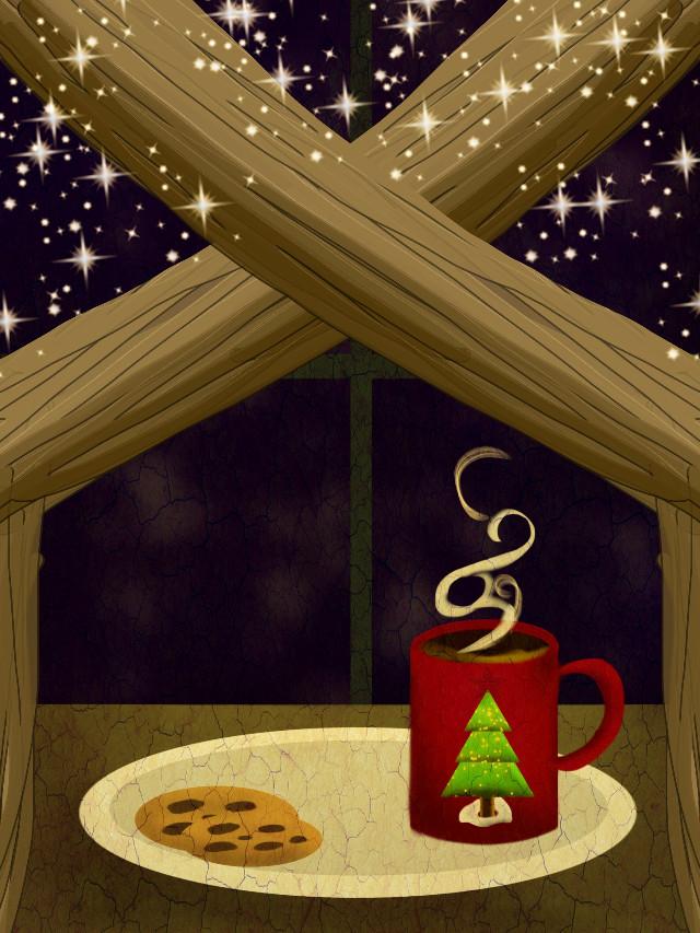 #freetoedit  #painting #seasons #christmas
