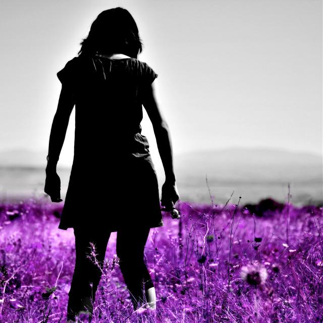 #purple #bw #colorsplash #portrait #wapdreamvacation #FreeToEdit #wapautumnvibes
