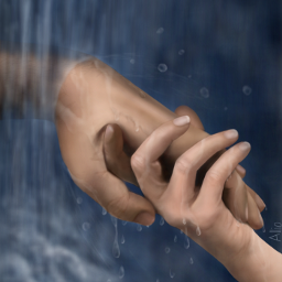 WDPhands drawing hands waterfall water drops art artistic