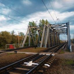 kharkov bridge suburb харьков railway