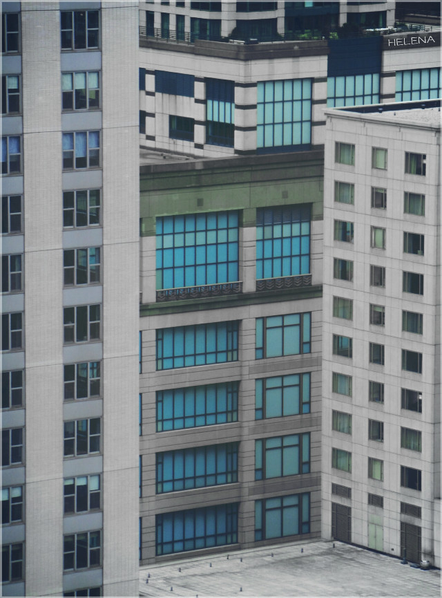 Rectangles & squares  #throughmywindow #chicago #city #architecture #urban #windows #shapes