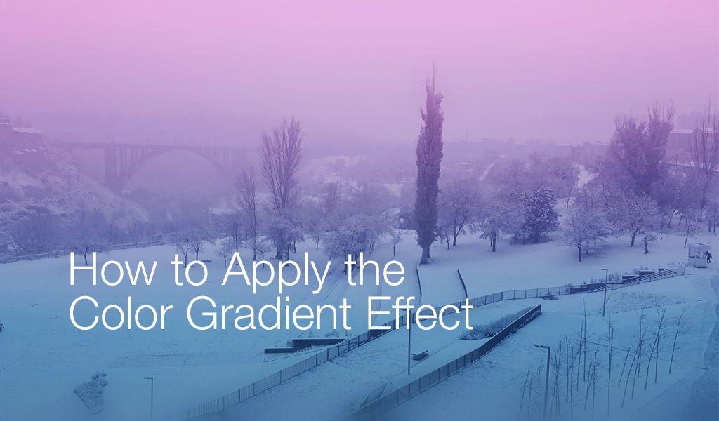 gradient effect tutorial