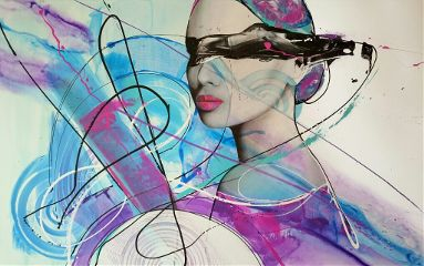 colorful artwork painting colorsplash artist