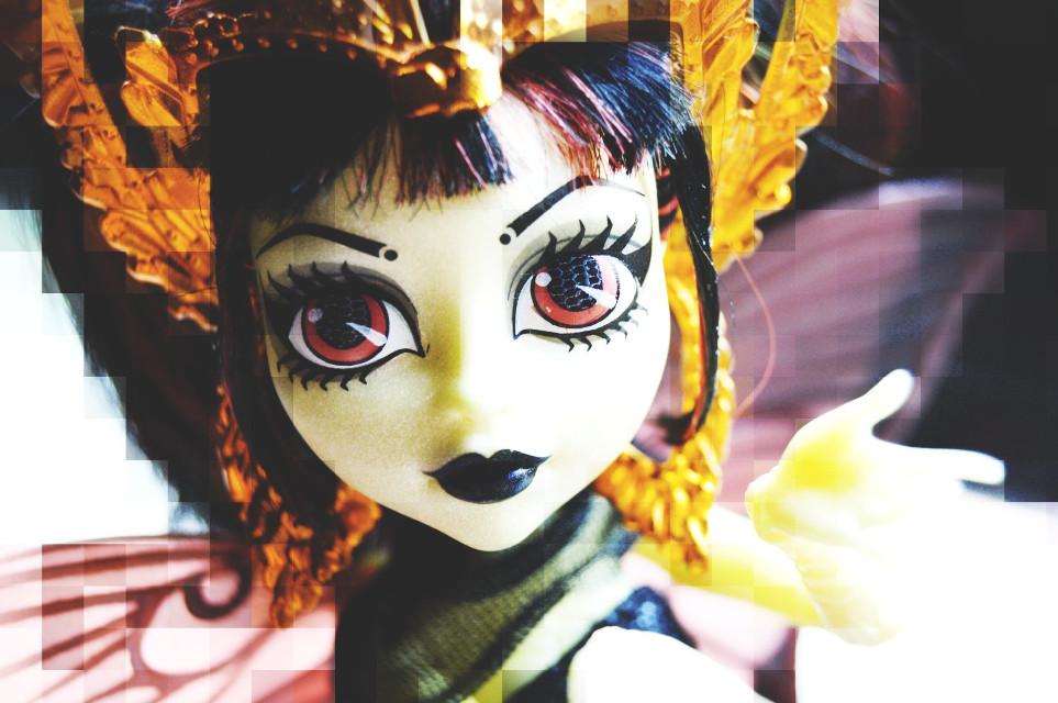 #pixel #doll #monsterhigh   #colorful  #drama