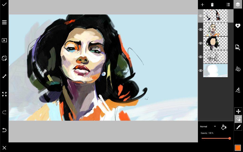 portrait coloring
