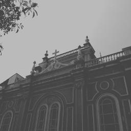 blackandwhite iglesia church guayaquil