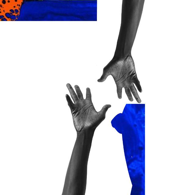 Hand Edit #photography #art   #blackandwhite  #emotions #blue  #hand