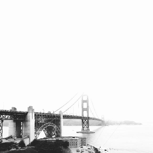 #blackandwhite #photography #popart #popart #travel #sanfrancisco #goldengatebridge #california
