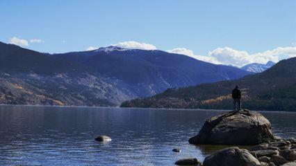 landscape nature lake photography clouds