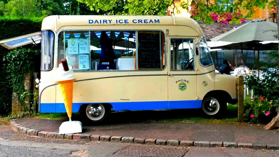 Dream van #cars #colorful #cotswold #ice cream