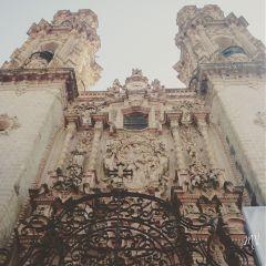 travel mexico taxco architecture church