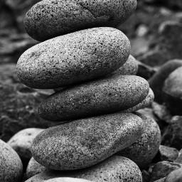 blackandwhite photography stones_keep