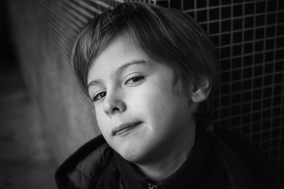 #Louis #mylove #children #son #black&white #portrait #face #visage #lyon #2016