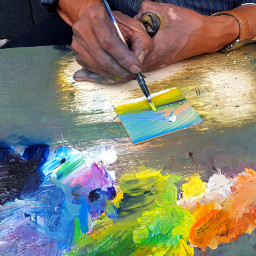 painting art colorful artist beuty
