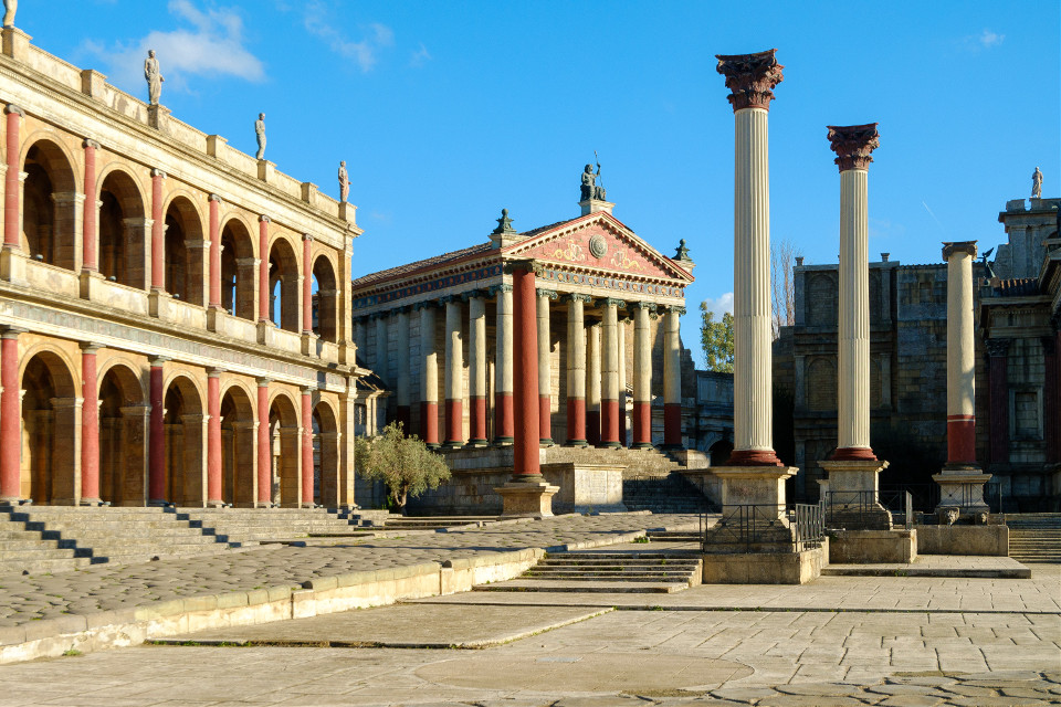 Rome.  #rome #italy #museum #cityscape #cinecitta #street #streetphoto #vintage #retro #photography #oldphoto