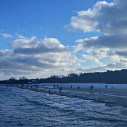 hdr poland sea beach