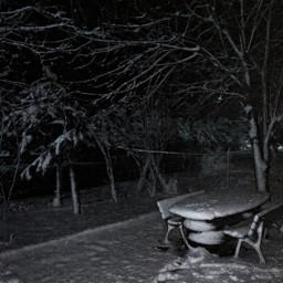 snow blackandwhite hdr nature travel