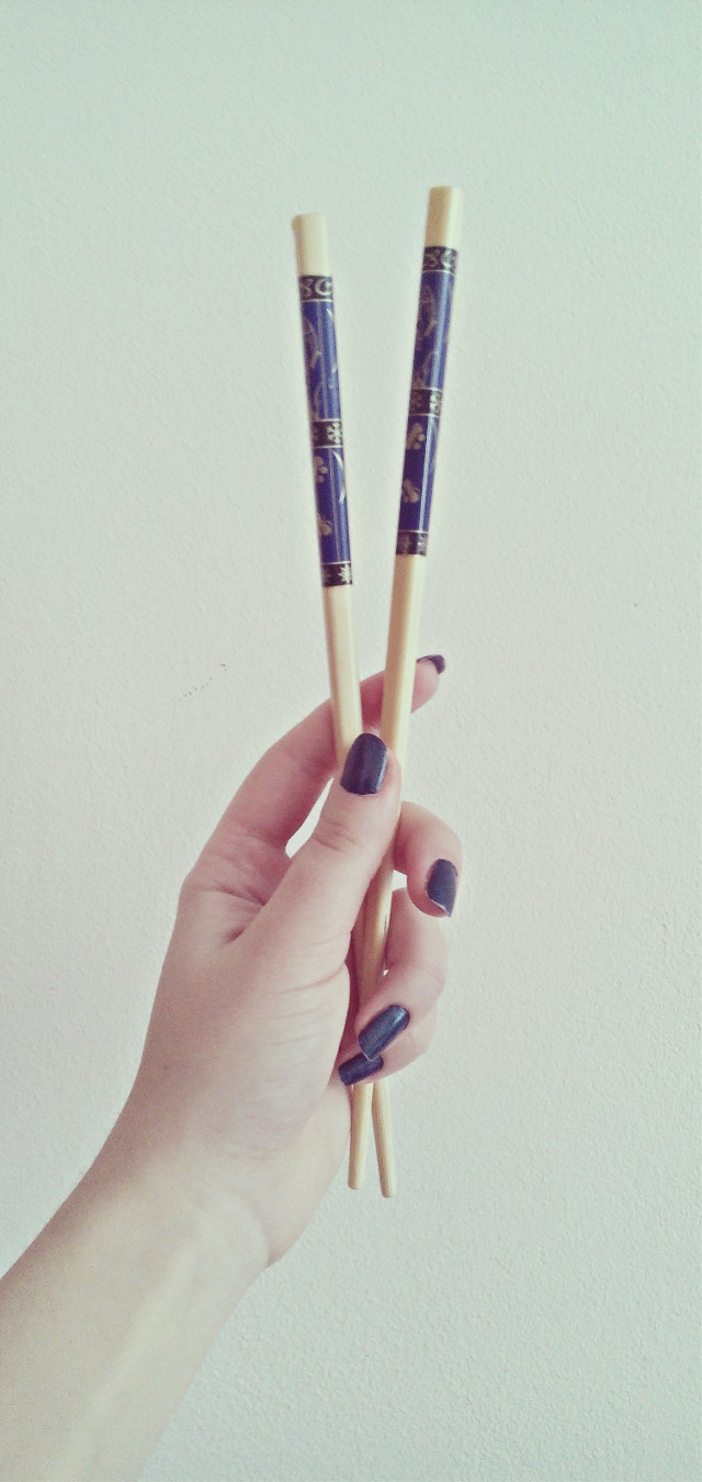 #hands #sticks #nails #photography #blue #japan #me #own #simple