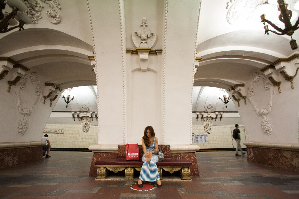 Moscow Underground  #photography  #mylove #portrait #red