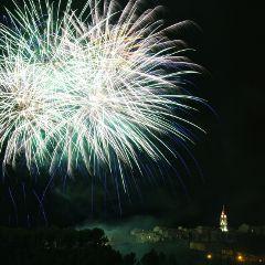 fireworks cadieredazur photography